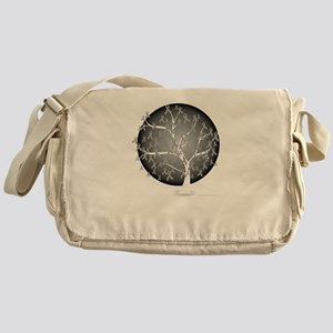 Brain-Cancer-Tree-blk Messenger Bag