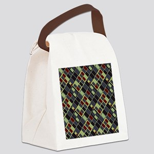 Blue Montreal Metro 34m Canvas Lunch Bag