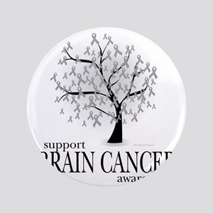 "Brain-Cancer-Tree 3.5"" Button"