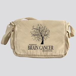 Brain-Cancer-Tree Messenger Bag