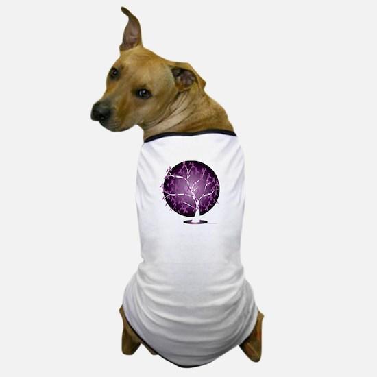 Cystic-Fibrosis-Tree-blk Dog T-Shirt