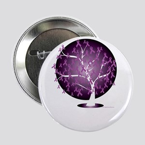 """Cystic-Fibrosis-Tree-blk 2.25"""" Button"""