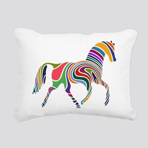 Cute Horse Rectangular Canvas Pillow