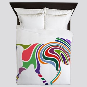 Cute Horse Queen Duvet