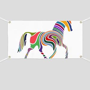 Cute Horse Banner