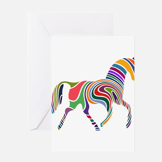 Cute Horse Greeting Cards