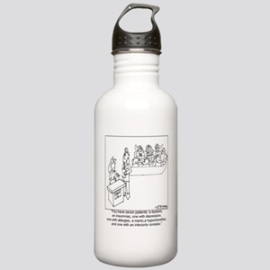 3097_doctor_cartoon_CE Stainless Water Bottle 1.0L
