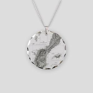 De L'Ile Gwam (Guam) Freycin Necklace Circle Charm