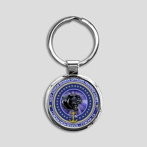 CJ02 Round Keychain