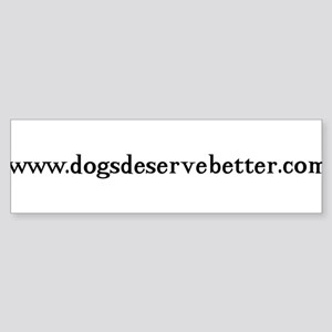 Website-BW Bumper Sticker