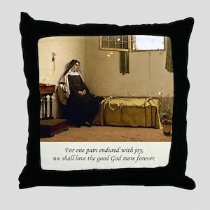 Contemplation5 Throw Pillow