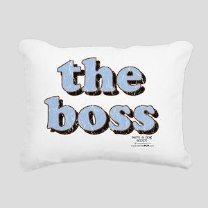 THEBOSS  Rectangular Canvas Pillow