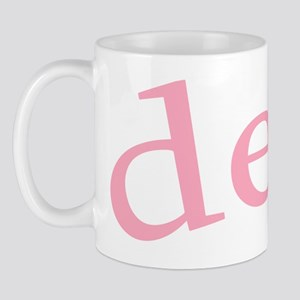 """""""Desi with Heart"""" Mug"""