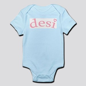 """Desi with Heart"" Infant Bodysuit"