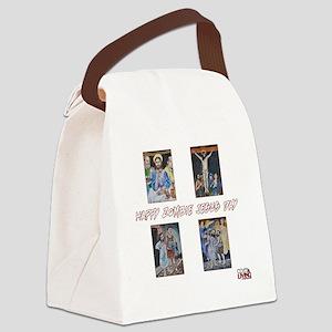 ZRCHappyZombieJesusDay Canvas Lunch Bag