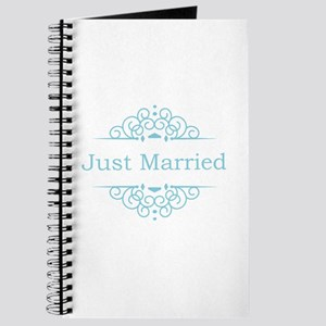 Just married in blue Journal