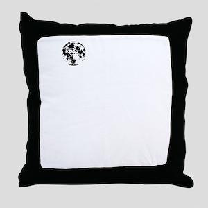 MOONTOWERwhite Throw Pillow