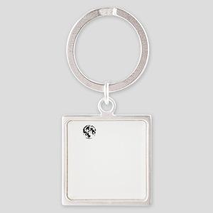 MOONTOWERwhite Square Keychain