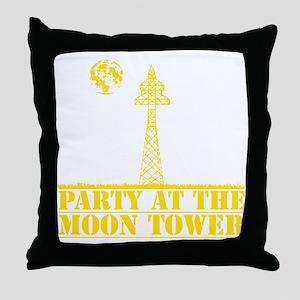 MOONTOWERyellow Throw Pillow