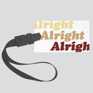 Alright Large Luggage Tag