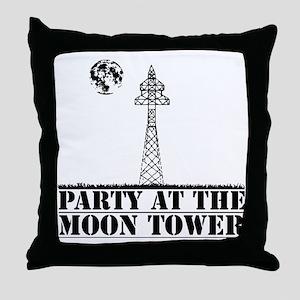 MOONTOWER Throw Pillow