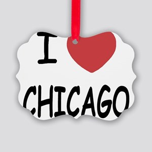 CHICAGO Picture Ornament