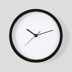 Santa Rosita white Wall Clock