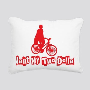 twodollars Rectangular Canvas Pillow