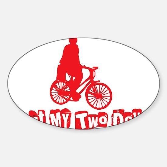 twodollars Sticker (Oval)