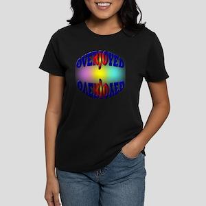 OVERJOYED Women's Dark T-Shirt