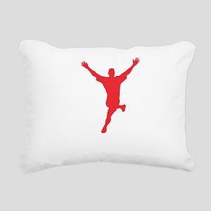 weregoingstreakingwhite Rectangular Canvas Pillow