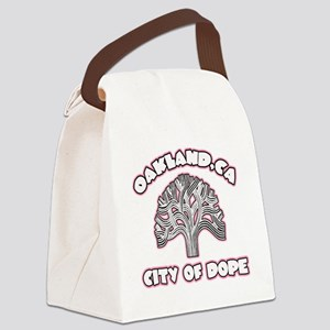 Oakland,Ca City of Dope -- T-Shir Canvas Lunch Bag