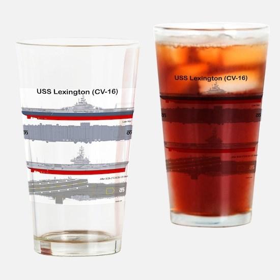 Essex-Lex-T-Shirt_Back Drinking Glass