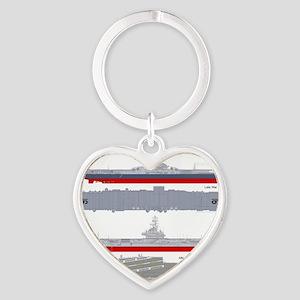 Essex-Lex-T-Shirt_Back Heart Keychain