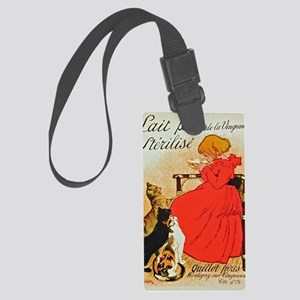 Steinlen_Lait Large Luggage Tag