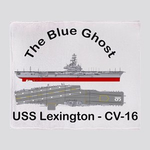 Essex-Lex-T-Shirt_Front_Angled Throw Blanket