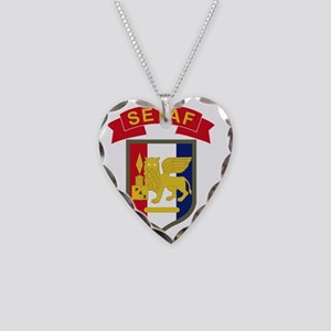 Army Africa - USARAF Necklace Heart Charm