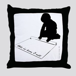 How-I-Roll-2011 Throw Pillow