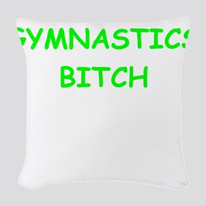 gym Woven Throw Pillow