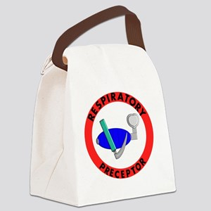 RESPIRATORY PRECEPTOR RED Canvas Lunch Bag