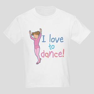 Love Dance Ballet Girl 1 Kids T-Shirt