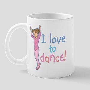 Love Dance Ballet Girl 1 Mug