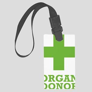 organdonorA Large Luggage Tag