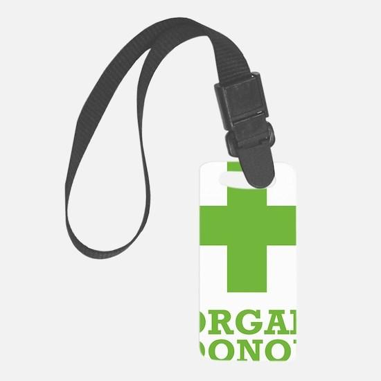 organdonorA Luggage Tag