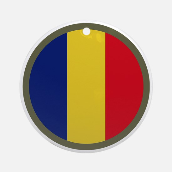 Army Training and Doctrine Command  Round Ornament