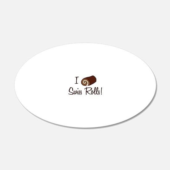 i-love-swiss-rolls_tr Decal Wall Sticker