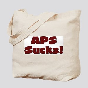 APS Sucks! Tote Bag