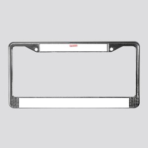 IT'S MY BIRTHDAY WANNA HUG ME License Plate Frame