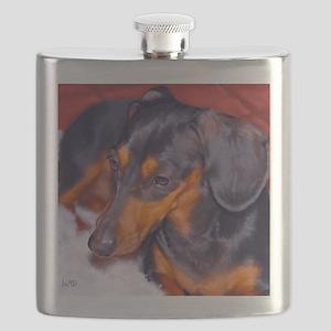 dachshund Flask