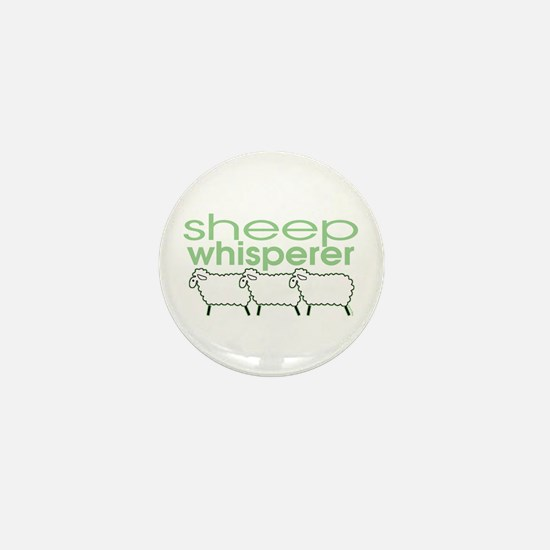 Sheep Whisperer Mini Button